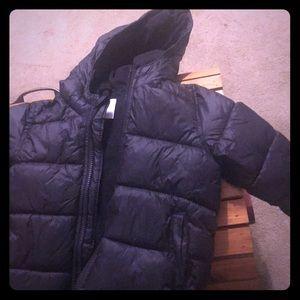 Toddler's puff jacket